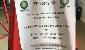 Adjustable Jack Stands – designed for Goldacres SP sprayers full